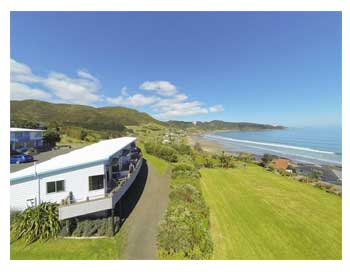 Ahipara Motel accommodation, Ninety Mile Beach